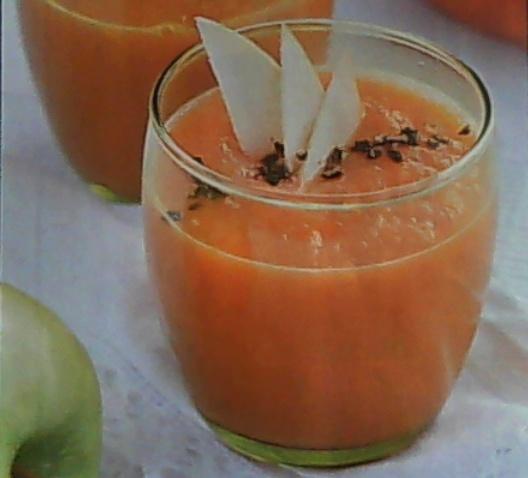 суп пюре с морковью и яблоками